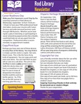 Rod Library Newsletter: Rod Notes, v8n2, September 2015 by University of Northern Iowa. Rod Library.
