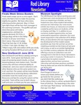 Rod Library Newsletter: Rod Notes, v8n9, May 2016 by University of Northern Iowa. Rod Library.