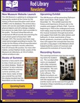 Rod Library Newsletter: Rod Notes, v8n10, June/July 2016 by University of Northern Iowa. Rod Library.