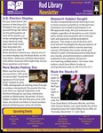 Rod Library Newsletter: Rod Notes, v9n4, November 2016 by University of Northern Iowa. Rod Library.