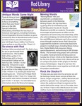Rod Library Newsletter: Rod Notes, v9n5, December 2016/January 2017 by University of Northern Iowa. Rod Library.