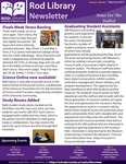 Rod Library Newsletter: Notes for the Stalled, v9n9, May/June 2017 by University of Northern Iowa. Rod Library.