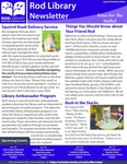 Rod Library Newsletter: Notes for the Stalled, Special Orientation Edition 2017 by University of Northern Iowa. Rod Library.