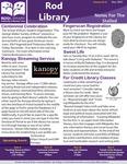 Rod Library: Notes for the Stalled, v10n4, November 2017