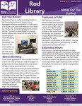 Rod Library: Notes for the Stalled, v10n5, December-January 2018 by University of Northern Iowa. Rod Library.