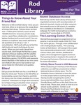 Rod Library: Notes for the Stalled, v10n11, Special Orientation Edition 2018 by University of Northern Iowa. Rod Library.