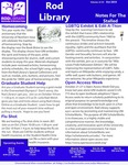 Notes for the Stalled, v12n3, October 2019 by University of Northern Iowa. Rod Library.