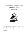 Fall 2015, UNI Literacy Clinic Anthology by University of Northern Iowa