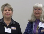 Phyllis Fisherpeet and Sharon Pinnick