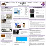 Energy-Dispersive X-ray (EDX) Mapping of Lead in Mastodon Tusk Using SEM by Nicholas Bonde and Katherine Plotzke