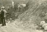 Hampton Mastodon Tusk Excavation Site, Photograph #1 by Iowa State Teachers College