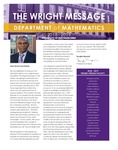 The Wright Message, 2018-2019 by University of Northern Iowa. Department of Mathematics.