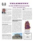 Telemetry, July/August 2011 by McNair Scholars Program (University of Northern Iowa)
