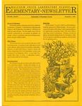 Elementary Newsletter, v1n2, November 1, 1988