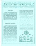 Elementary Newsletter, v1n3, December 1, 1988