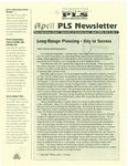 [Price Laboratory School] Newsletter, v10n7, April 2000