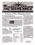 [Price Laboratory School] Newsletter, v9n1, August-September 1998 by Malcolm Price Laboratory School