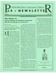 PLS Newsletter, v5n8, May 1995 by Malcolm Price Laboratory School