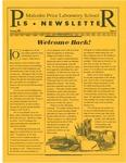 PLS Newsletter, v5n1, August 1994
