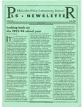 PLS Newsletter, v4n8, May 1994 by University of Northern Iowa. Malcolm Price Laboratory School