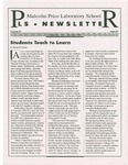 PLS Newsletter, v4n4, December 1993-January 1994 by Malcolm Price Laboratory School