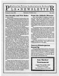 PLS Newsletter, v3n8, May 1993 by Malcolm Price Laboratory School