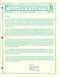 PLS Newsletter, v2n1, August 1991 by Malcolm Price Laboratory School