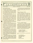 PLS Newsletter, v1n2, October 1990 by Malcolm Price Laboratory School