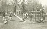 1928 kindergarten held at Pres. Seerley's home