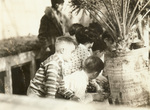 1930 visiting the greenhouse