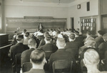 1932 Dr. Norma Peterson teaching observation class by Don McCavick