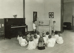 1936 kindergarten class reproduced by Waterloo Engraving and Service Co