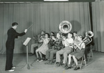 1941 concert band by Hollett's Photos