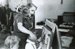 1944 Jean Letch , junior supervisor