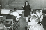 1945 Beverley Smith teaching