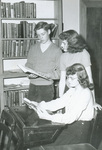 1950s study in library