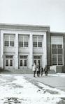 1959 leaving school with winter coats