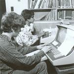 1980s Junior High computer work