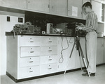 Late 1960s photographing oscillagraph