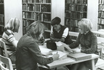 Late 1960s Studying in the library