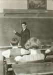 Math on the blackboard