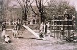 Outdoor kindergarten playground