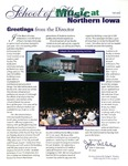 Music at Northern Iowa, v19, Fall 2000