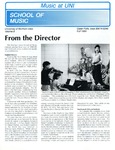 Music at UNI, v8, Fall 1989 by University of Northern Iowa. School of Music.