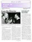 Music at UNI, v6, Summer 1987