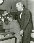1957 with Bob Davis in the control room