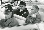 1975 Herb & Monabelle Hake homecoming parade grand marshals