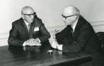 May 1971 Hake interviewing Arnold Graber
