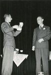 November 1948 alumni dinner with Frank Hill