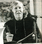 Mona Van Duyn speaking in 1991